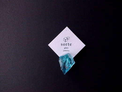 stardust片耳イヤリング/sorte glass jewelry
