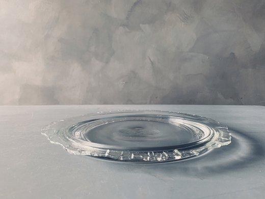 ガラスの大皿/sorte glass(関野亮)