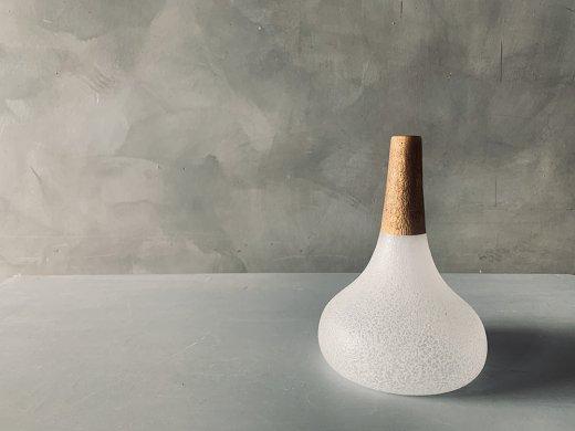 うたかた 金彩花器/sorte glass(関野ゆうこ)