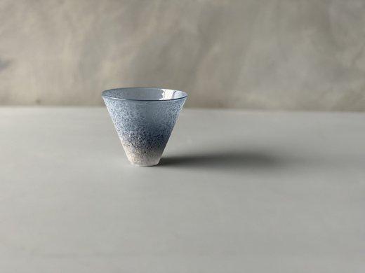 うたかたグラス(藍色)/sorte glass(関野ゆうこ)
