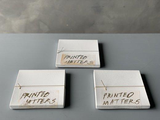 Printed matters vol.01/井上陽子