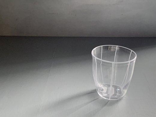 グラス(縞)/塩谷直美