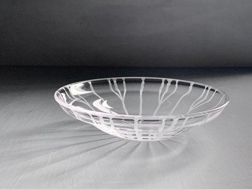 ガラス鉢(蓮の葉)/塩谷直美