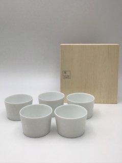 【ギフトセット】深山(MIYAMA) 美濃焼 gaku 小鉢5個セット 桐箱入り
