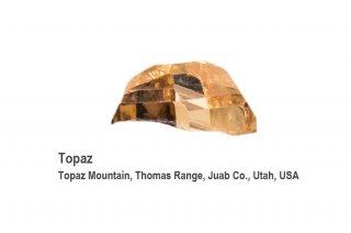 トパーズ 結晶石 USA産 Topaz Mountain, Thomas Range, Juab Co., Utah, USA Topaz 