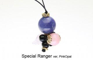 スペシャルレンジャー ver,ピンクオパール ストラップ|Special Ranger|Pink Opal|現品|