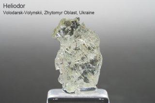 ヘリオドール 結晶石 ウクライナ産|Volodarsk-Volynskii, Zhytomyr Oblast, Ukraine|Beryl|Heliodor|緑柱石|ベリル|ゴールデンベリル|