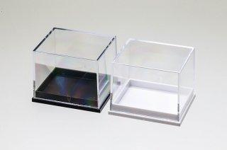 標本整理品 標本ボックス アクリルケース|5個セット|白・黒|41 x 35 x 32mm|クーポン不可|