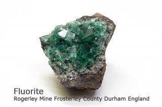 フローライト 結晶石 イングランド|ロジャリー鉱山|発光フローライト|Rogerley Mine Durham England|Fluorite|蛍石|
