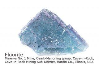 フローライト 結晶石 イリノイ産|Minerva No. 1 Mine, Cave-in-Rock, Illinois, USA|蛍石|Fluorite|