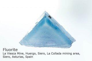 フローライト 結晶石 スペイン産 La Viesca Mine, Asturias, Spain 蛍石 Fluorite 