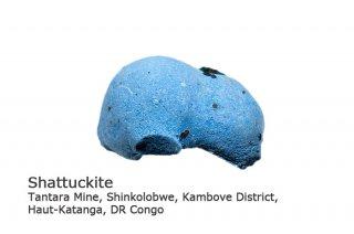 シャッタカイト 結晶 ゴンゴ産 Tantara Mine, Haut-Katanga, DR Congo Shattuckite  シャタック石 