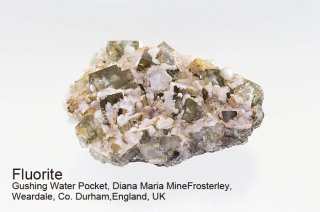 【Gushing Water】フローライト 結晶石 イングランド産|グウィシングウォーター|発光|Gushing Water Pocket, Diana Maria Mine UK|蛍石|