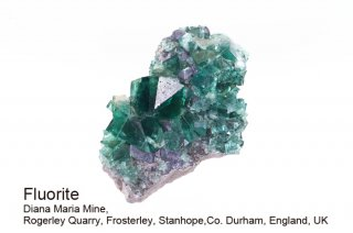 【Diana Maria】フローライト 結晶石 イングランド産|ダイアナマリア|発光|Diana Maria Mine UK|蛍石|