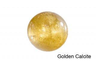 【丸玉】ゴールデンカルサイト 丸玉 33mm|方解石|Golden Calcite|