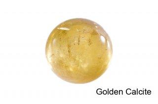 【丸玉】ゴールデンカルサイト 丸玉 35mm|方解石|Golden Calcite|