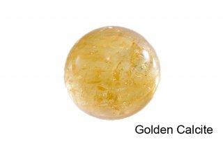 【丸玉】ゴールデンカルサイト 丸玉 37mm|方解石|Golden Calcite|