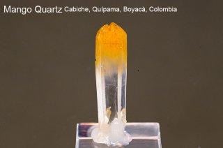 マンゴークォーツ 結晶 コロンビア産|Cabiche, Quipama, Boyaca, Colombia|Quartz|水晶|2676A|