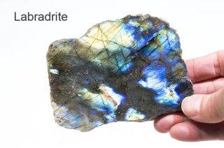 ラブラドライト スラブ マダガスカル産|Madagascar|Labradrite|曹灰長石|
