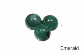【ビーズ】エメラルド 3A 6mm|Emerald|緑柱石|1粒販売|