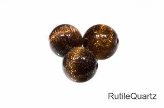 【ビーズ】キャッツアイ ルチルクォーツ SA 8mm|Rutilequartz|1粒販売|