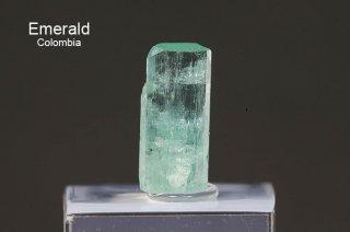 エメラルド 結晶石 コロンビア産 Muzo, Western Emerald Belt, Boyaca, Colombia 緑柱石 Emerald 2762A 