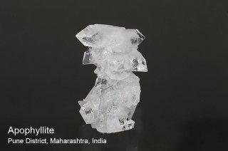 アポフィライト 結晶石 インド産 Pune District, Maharashtra, India Apophyllite 魚眼石 