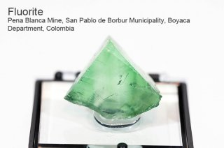 フローライト 結晶石 コロンビア産|Pena Blanca Mine, San Pablo de Borbur Boyaca Department, Colombia|蛍石|