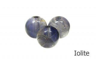 【ビーズ】アイオライト 2A 8mm|Iolite|菫青石|1粒販売|