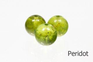 【ビーズ】ペリドット 3A 8mm|Peridot|かんらん石|1粒販売|