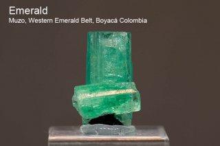 エメラルド 結晶石 コロンビア産|Muzo, Western Emerald Belt, Boyaca, Colombia|緑柱石|Emerald|160C|