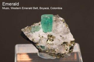 エメラルド 結晶石 コロンビア産|Muzo, Western Emerald Belt, Boyaca, Colombia|緑柱石|Emerald|171K|