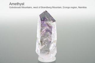 アメジスト 結晶 ナミビア産|Goboboseb Mountains, west of Brandberg Mountain, Erongo region, Namibia|Amethyst|紫水晶|