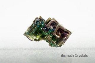 ビスマス 結晶 ドイツ産 美しい結晶 Bismuth Crystals 蒼鉛 