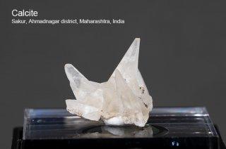 カルサイト 結晶石 インド産 Sakur, Ahmadnagar district, Maharashtra, India Calcite 方解石 