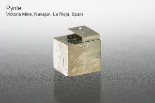 パイライト 結晶 スペイン産|Victoria Mine, Navajun, La Rioja, Spain|Pyrite|黄鉄鉱|