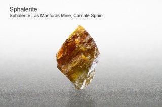 スファレライト 結晶 スペイン産| Las Manforas Mine,Camale Spain|Sphalerite|閃亜鉛鉱|