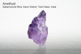 アメジスト 結晶 インド産|Kakamunurle Mine, Karur District, Tamil Nadu, India|Amethyst|紫水晶|