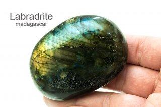 ラブラドライト お守り石 マダガスカル産|Madagascar|Labradrite|曹灰長石|