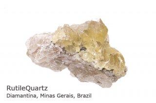ゴールドルチルクォーツ 結晶クラスター ブラジル産|金線ルチル|ブDiamantina, Minas Gerais, Brazil|RutileQuartz|