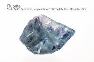 フローライト 結晶石 チャイナ産|Yindu Ag-Pb-Zn deposit, Hexigten Banner, Chifeng City, Inner Mongolia, China|蛍石|