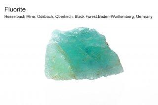 フローライト 結晶原石 ラフ 黒い森 ドイツ産 Hesselbach Mine, Black Forest, Germany 蛍石 Fluorite 