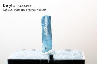 アクアマリン 結晶 ベトナム産|非加熱|Xuan Le, Thanh Hoa Province, Vietnam|Aquamarine|Beryl|緑柱石|