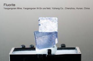 フローライト 結晶 チャイナ産 Yaogangxian Mine, Yaogangxian W-Sn ore field Yizhang Co., Chenzhou, Hunan China