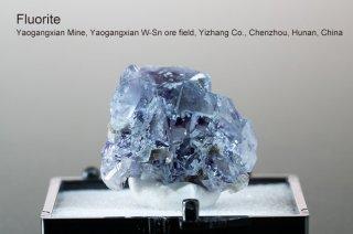 フローライト 結晶 チャイナ産|Yaogangxian Mine, Yaogangxian W-Sn ore field Yizhang Co., Chenzhou, Hunan China
