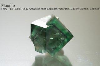 【Lady Annabella Mine】フローライト 結晶石 イングランド産|アナベラマイン|蛍光|Fairy Hole Pocket Lady Annabella Mine England, UK
