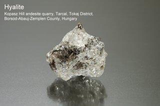 ハイアライト 結晶 ハンガリー産|Kopasz Hill andesite quarry, Borsod-Abauj-Zemplen County, Hungary|Hyalite|玉滴石|