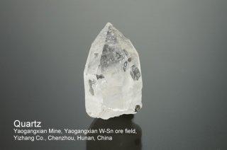 クォーツ 結晶 チャイナ|Yaogangxian Mine, Yaogangxian W-Sn ore field Yizhang Co., Chenzhou, Hunan China