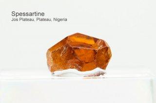スペッサルティン 結晶 ナイジェリア産|Spessartine|Jos Plateau, Plateau, Naigeria|満礬柘榴石|