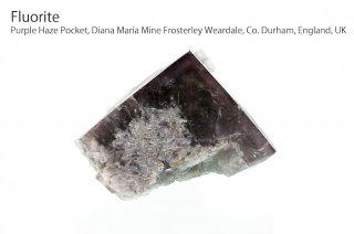 【Purple Haze Pocket】フローライト 結晶石 イングランド|パープルヘイズ|発光|Purple Haze Pocket, Diana Maria Mine|Fluorite|蛍石|